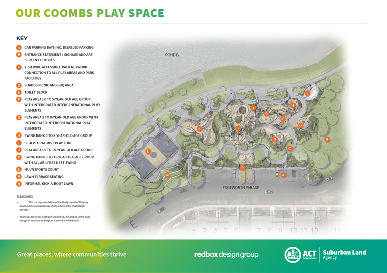 Coombs Play Space Draft Designs