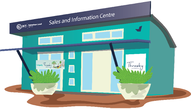 Throsby Sales & Information Centre