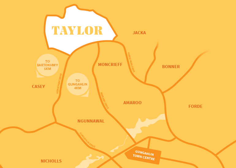 Taylor Location Map
