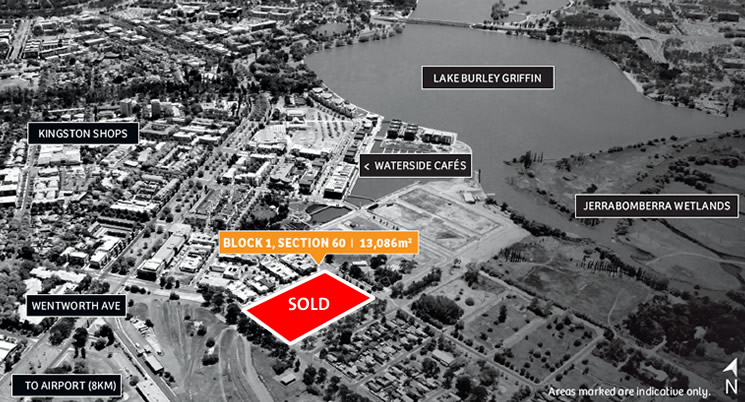 Auction Results – Block 1 Section 60 Kingston Foreshore