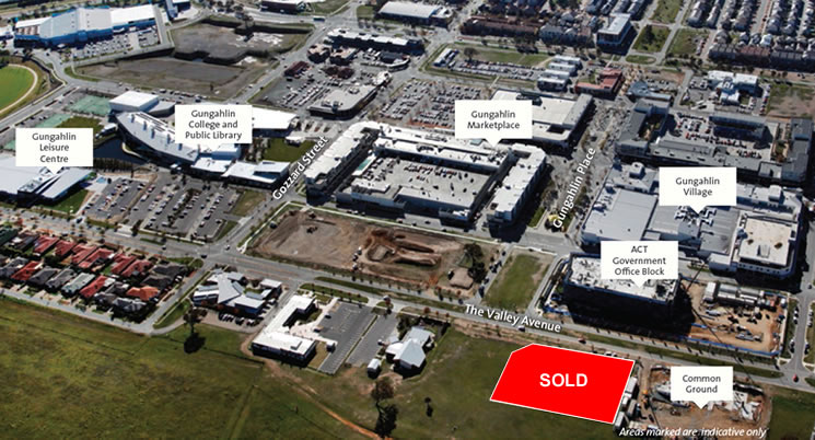 Site sold at Auction – Block 1 Section 246 Gungahlin