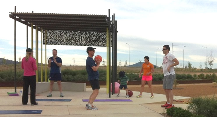 'Jump into Fitness' - Mingle Boot Camp!