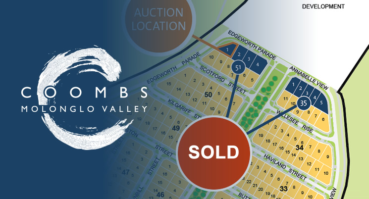Residential Land in Coombs sold at Auction