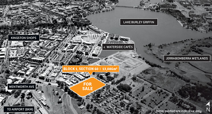 Land for Sale – Create your Masterwork at Kingston Foreshore