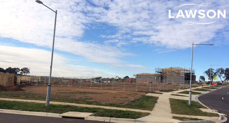 Construction starts on Lawson homes
