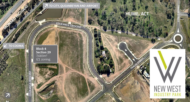 Industrial Land for sale by Tender – New West Industry Park