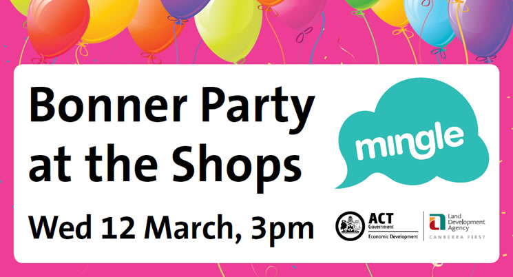 Bonner Party at the Shops 2014