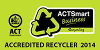 ACT Accredited Recycler 2014