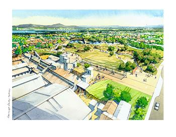 Proposed quarry park