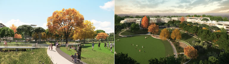 Parkland and Open Spaces