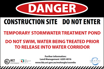 Stormwater Management Sign