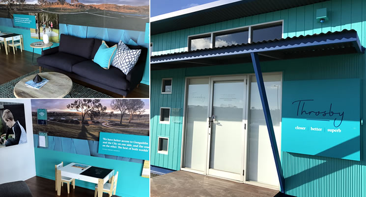 Throsby Sales & Information Centre Now Open