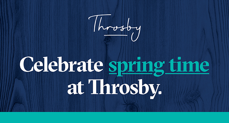 Spring into Throsby
