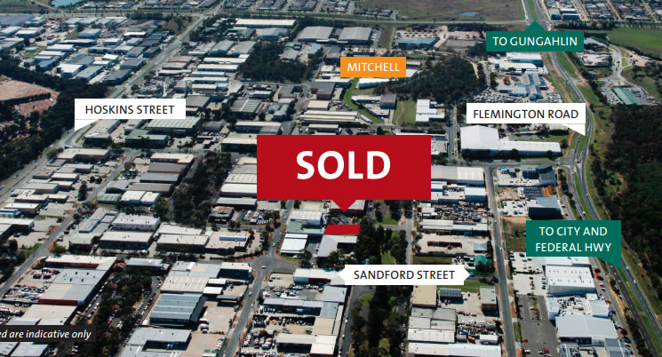Sold at Auction – Industrial land in Mitchell