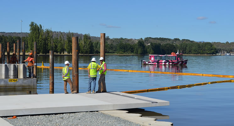 West Basin Boardwalk Taking Shape