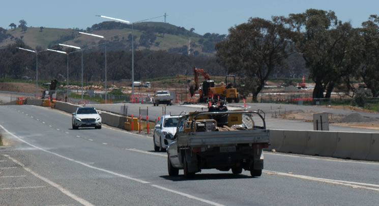 Horse Park Drive Latest Works Complete
