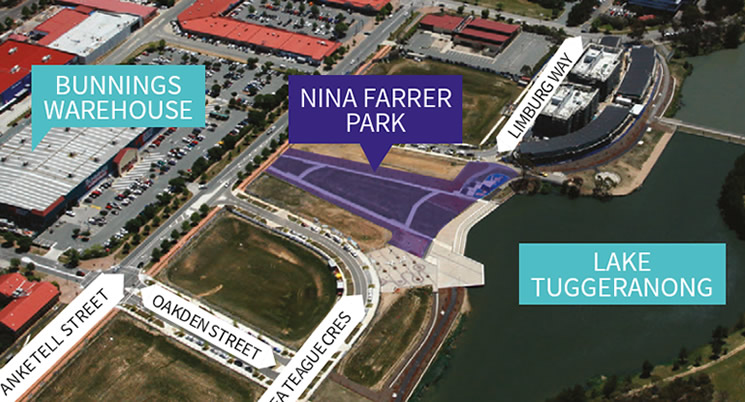 Nina Farrer Park Official Opening