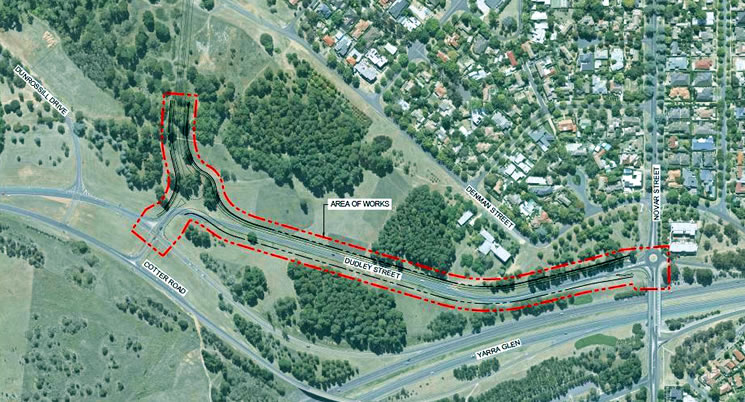 Community drop in session – upcoming road works in Yarralumla