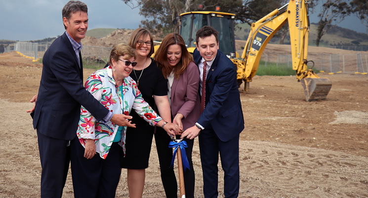 Construction of the Taylor School Site Begins