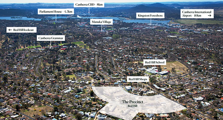 Tenders Now Open – The Precinct Red Hill
