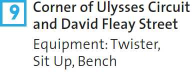 9 – Corner of Ulysses Circuit and David Fleay Street