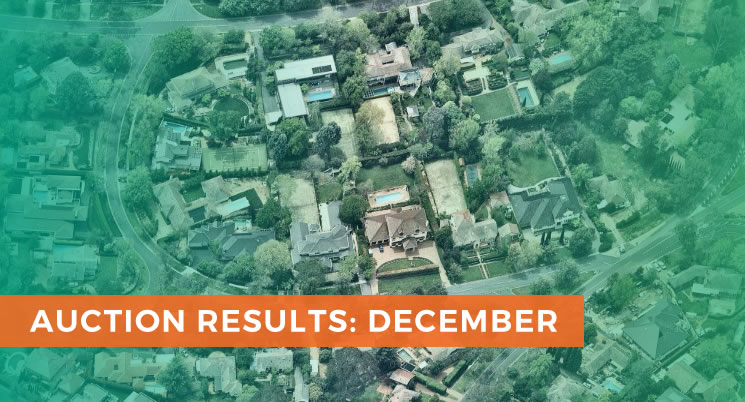 Suburban Residential December Auction Results