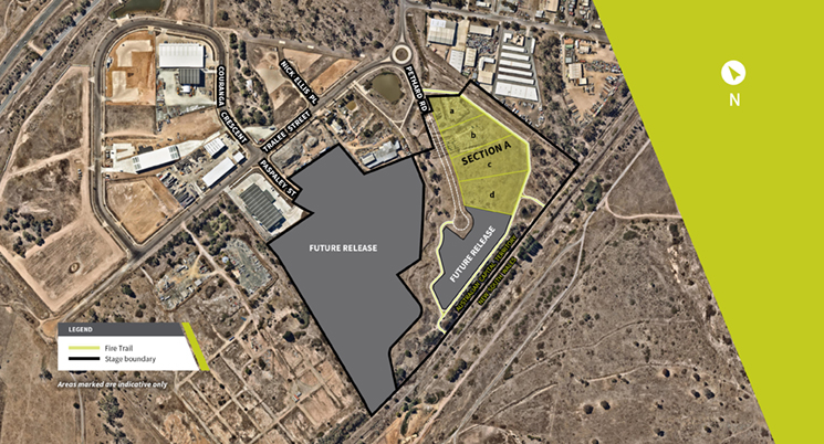 Large Scale Industrial Development in Hume