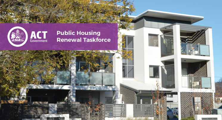 Invitation for proposals for suitable public housing