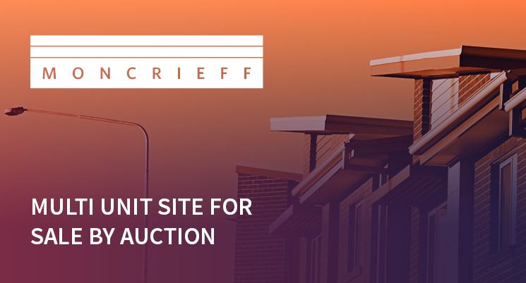 Land Ready Multi Unit Site for Sale by Auction