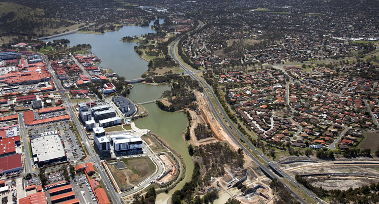 Lake Tuggeranong Shared Path Temporary Closure