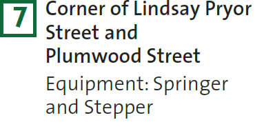 7 – Corner of Lindsay Pryor Street and Plumwood Street