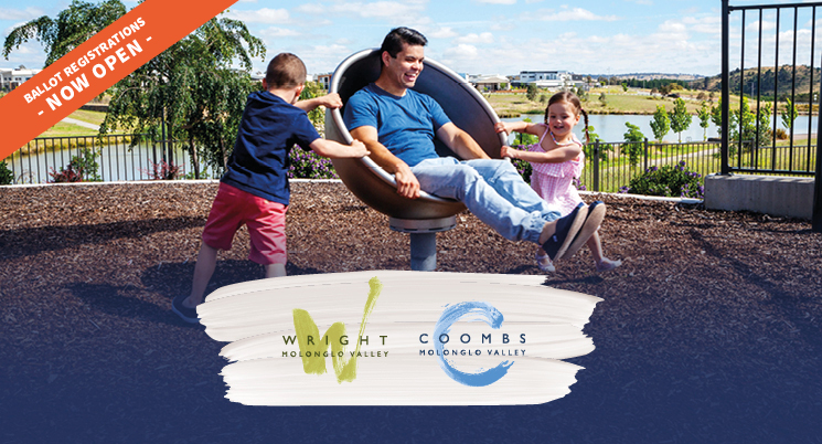 Ballot Registrations Open – Wright and Coombs Single Residential Land Release