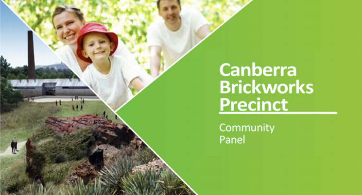 Canberra Brickworks Precinct - Community Panel