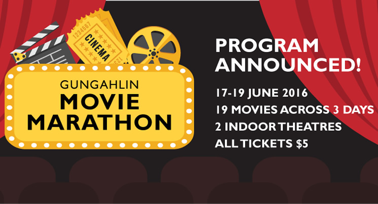 Gungahlin Movie Marathon program announced