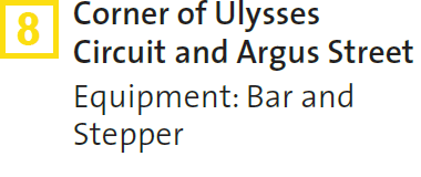 8 – Corner of Ulysses Circuit and Argus Street