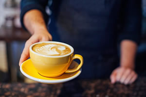 Pop up cafe