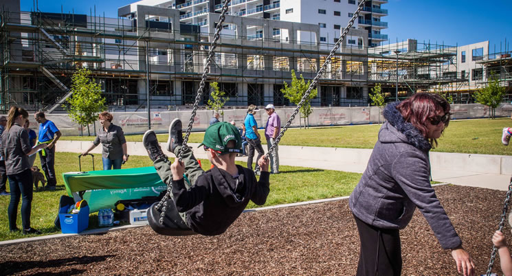 Southquay Greenway's Nina Farrer Park is Now Open!