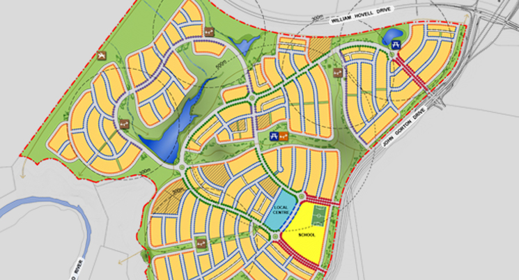 Development Application for Whitlam - Canberra's Newest Suburb