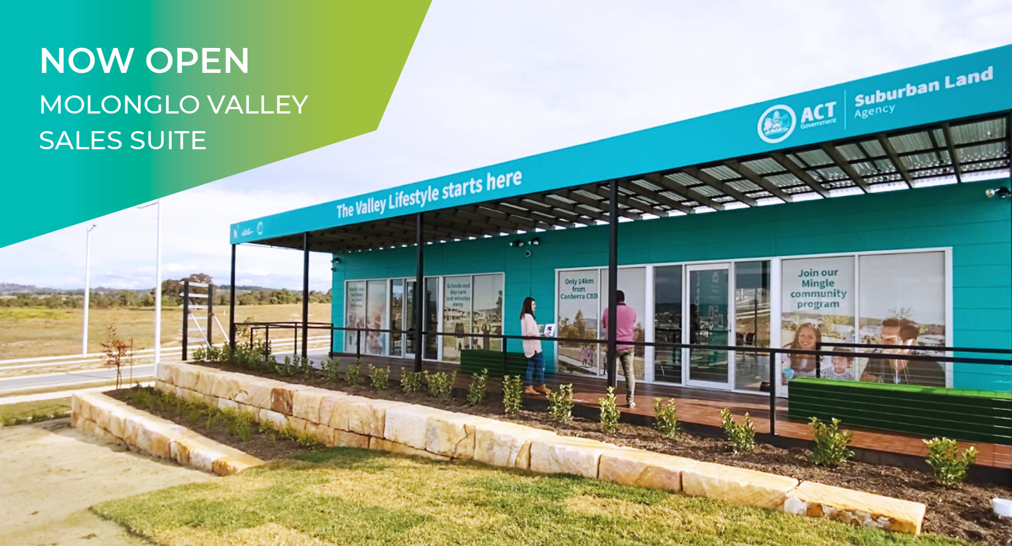 Molonglo Valley Sales Suite Now Open