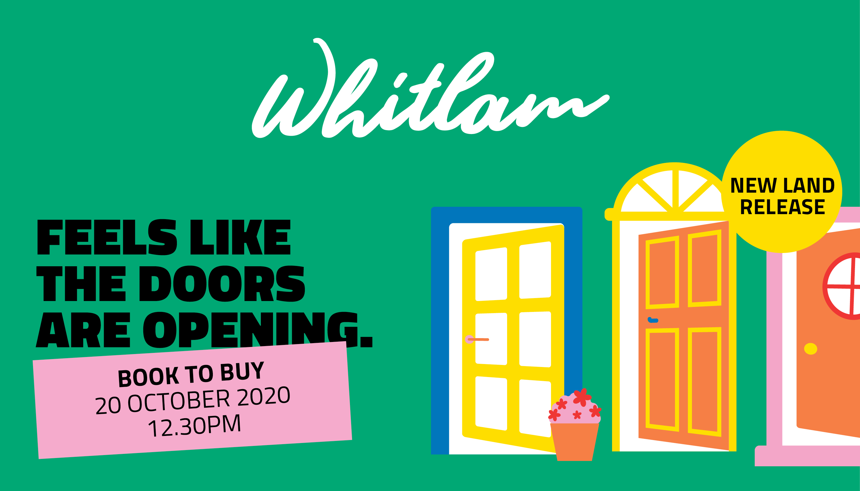 Book to Buy - blocks available in Whitlam