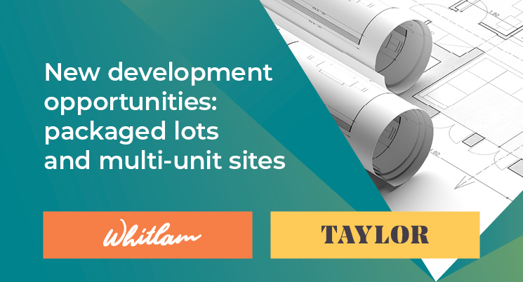 Sold - Development opportunities in Whitlam and Taylor