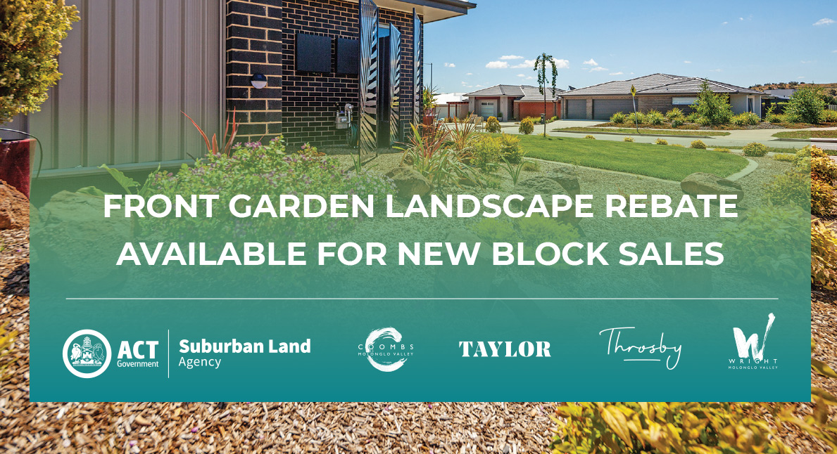 Limited time offer: Landscape rebate now available on new land ready sales