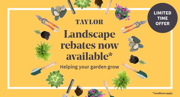 Front Garden Landscape Rebate Scheme For Taylor