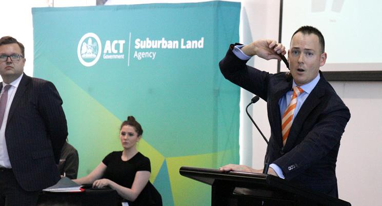Strong interest in Canberra landmark sites