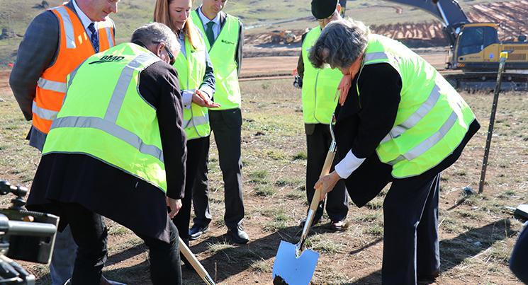 Sod Turning Ceremony Marks Start of Whitlam