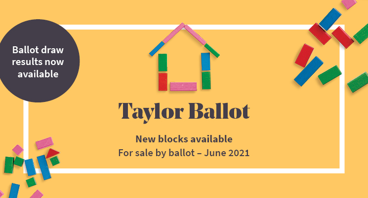 Taylor ballot draw results now available