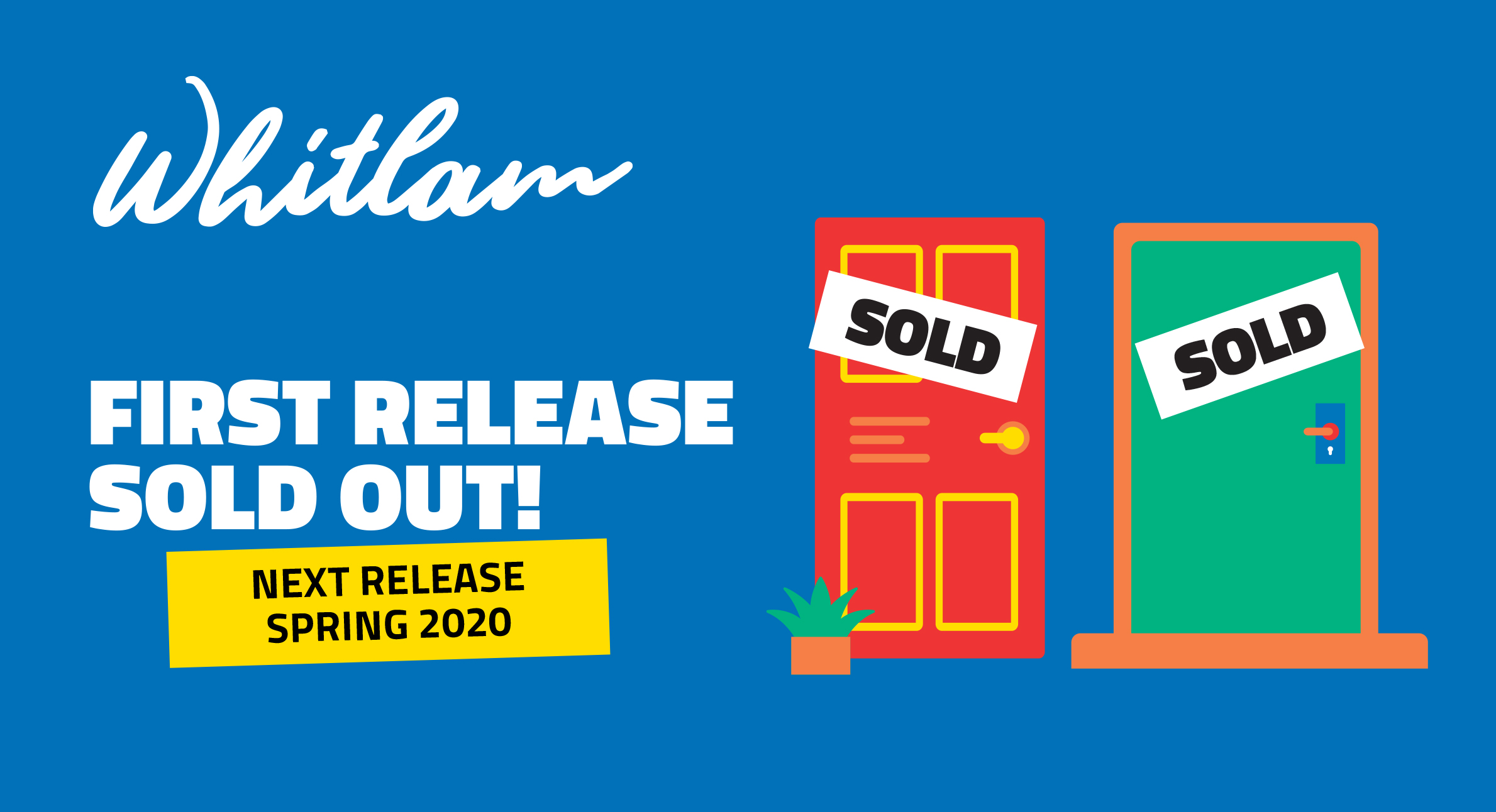 Whitlam Land Release 2020