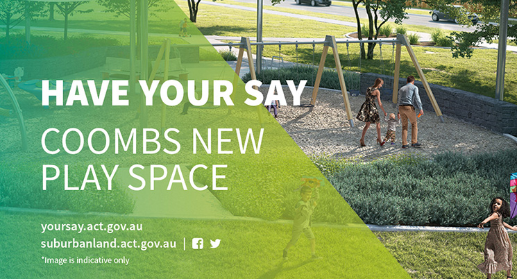 Have Your Say - Coombs New Play Space