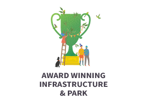 Award winning infrastructure & park
