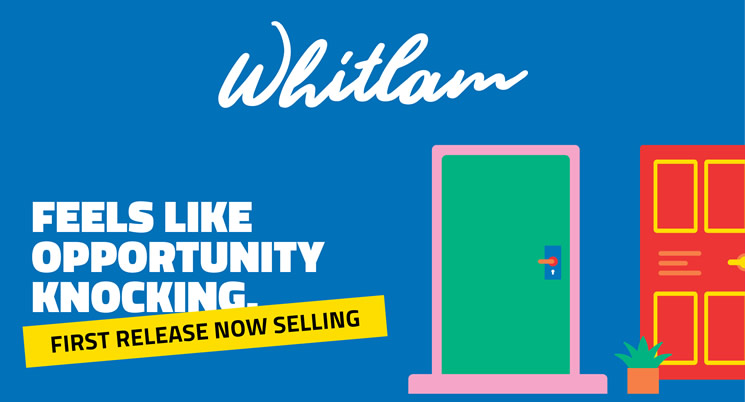 Whitlam's first 80 blocks have now been released